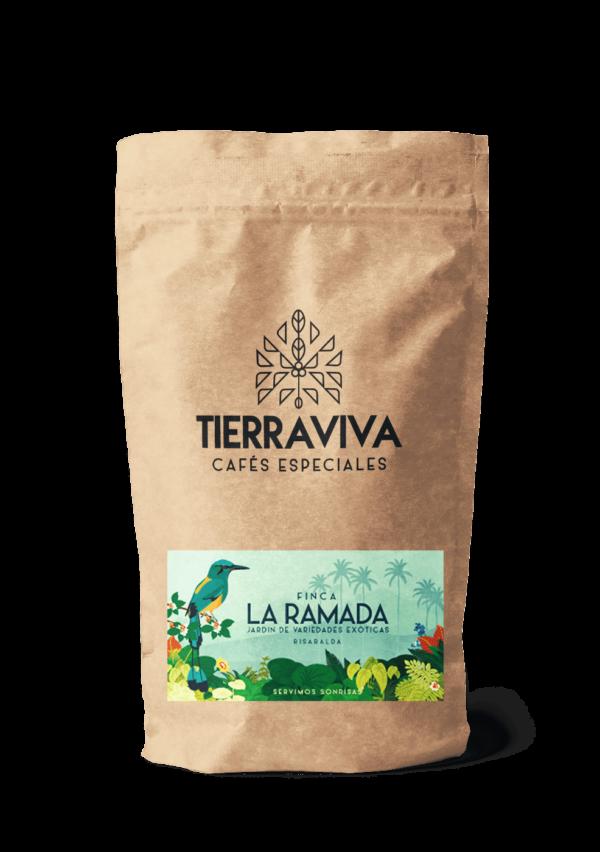La ramada | Cafés Exóticos de Colombia Origen: Finca La Ramada - Risaralda Altura: 1.240 msnm Perfil de taza: Miel de abejas, floral, naranja dulce